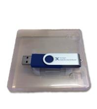 USB-minne med fodral