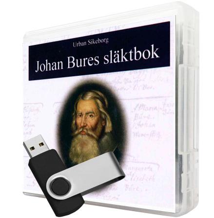 Johan Bures släktbok USB