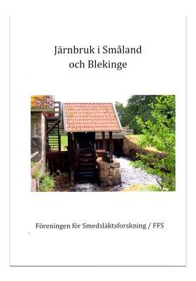 Järnbruk i Småland och Blekinge