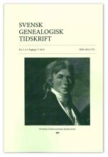 Svensk Genealogisk Tidskrift